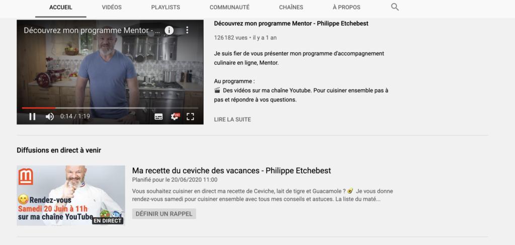 philippe etchebest youtube
